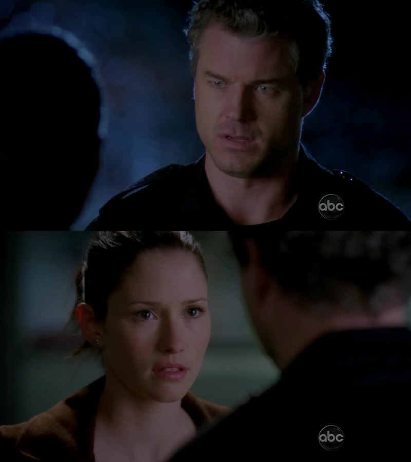 """You told her you'd choose your """"daughter"""", that you met like 2 weeks ago, over HER, the love of your life. What was she supposed to do? And why your sleeping with Addison was excusable and her sleeping with Alex was not? You broke her feelings too, and she had to take her mind off for a while.  I love you Mark, you're my fav character, but right now you've been an asshole :( I know you still love each other"""
