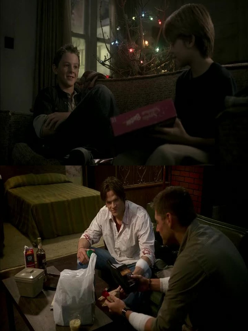Dean is so protective and strong. Sam is so sweet and lovely.  I love their relationship 💕
