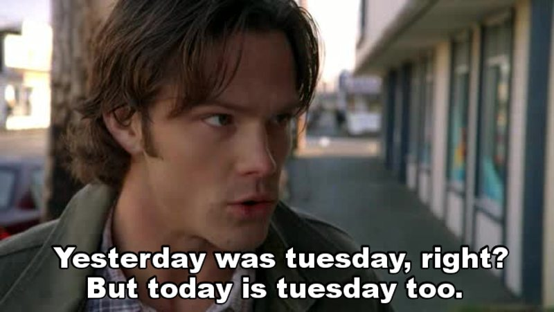 Supernatural's Groundhog Day 💕 This episode was so good!