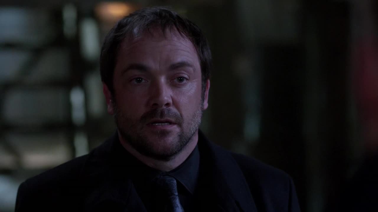 """I'm dead. Yes, I know. I love you too."" VOTE CROWLEY"