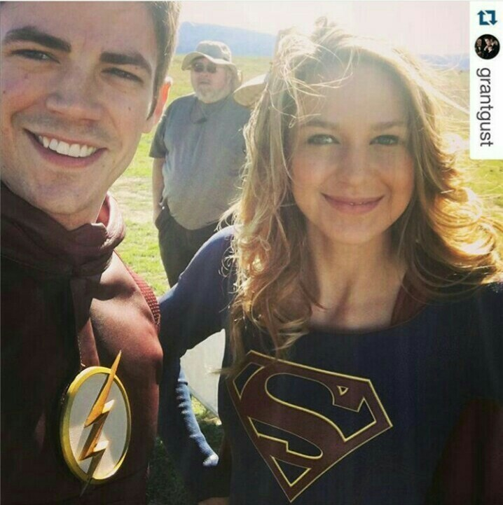 The crossover is coming! ❤💙 ⚡  😱😱😱