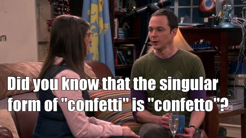 When you already know something Sheldon says because you're italian 👑🇮🇹