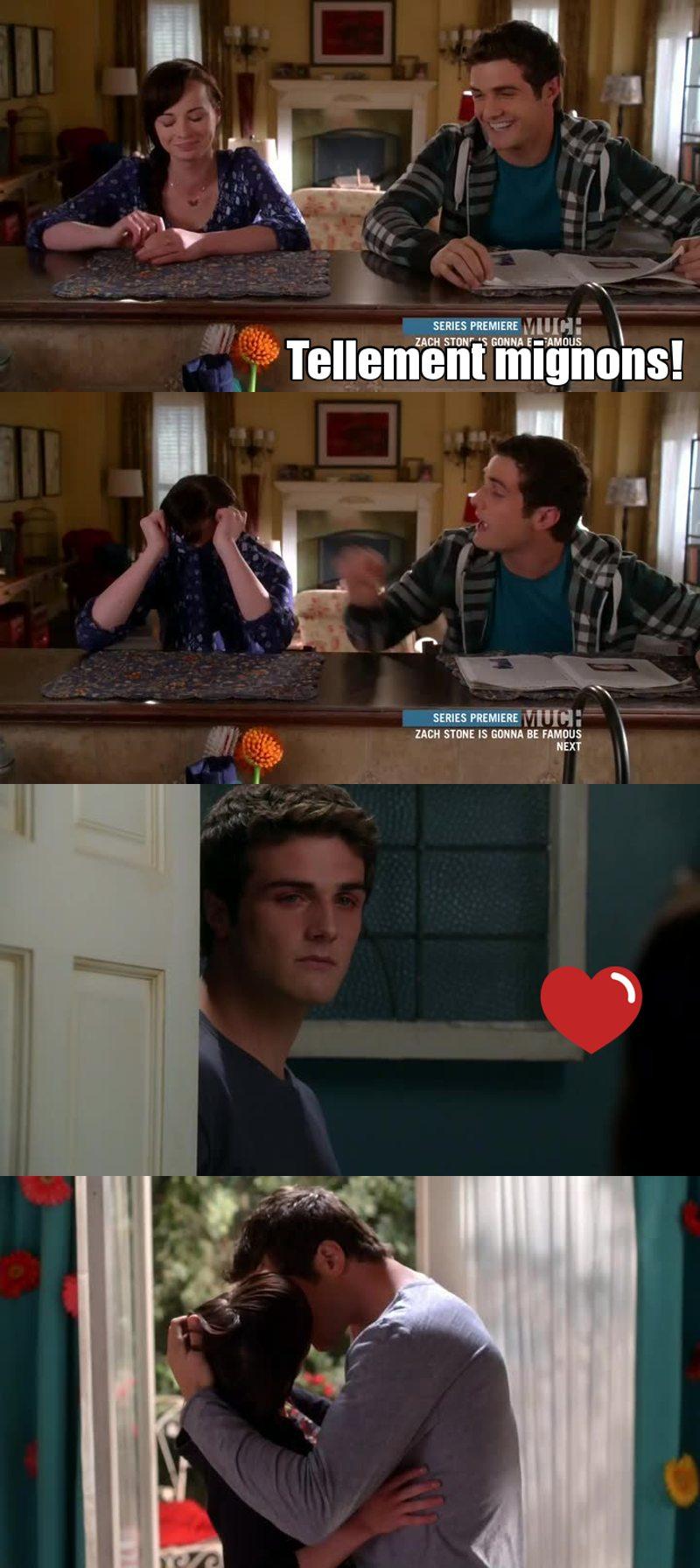 J'avais raison d'être Team Matty depuis le début! Ils vont super bien ensembles, mais j'ai l'impression que Jenna est indécise. Et quand elle a pété devant lui alors la j'en pouvais pluuuus! Il est tellement mignon quand il pleure.