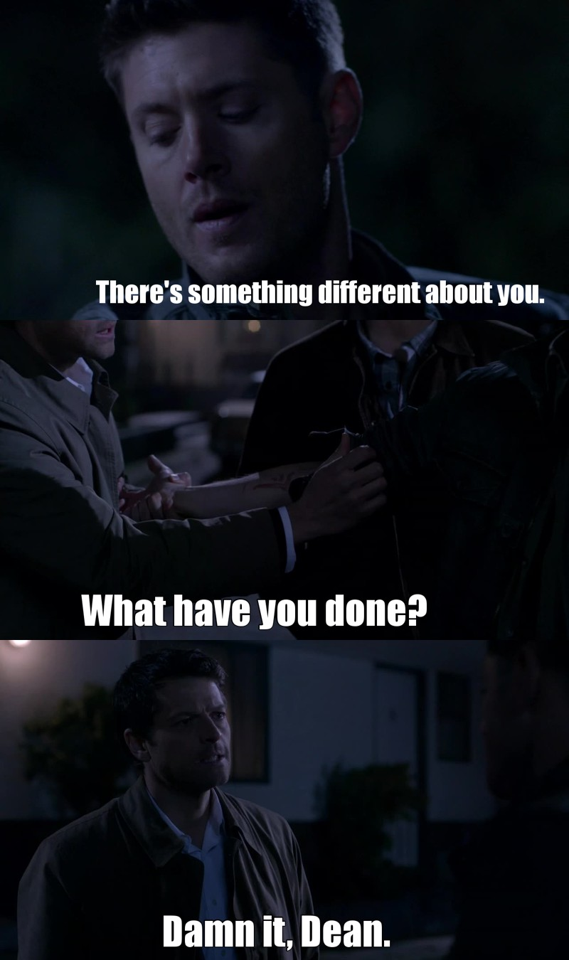 It was a bad, bad idea, Dean. Listen to your angel 😕