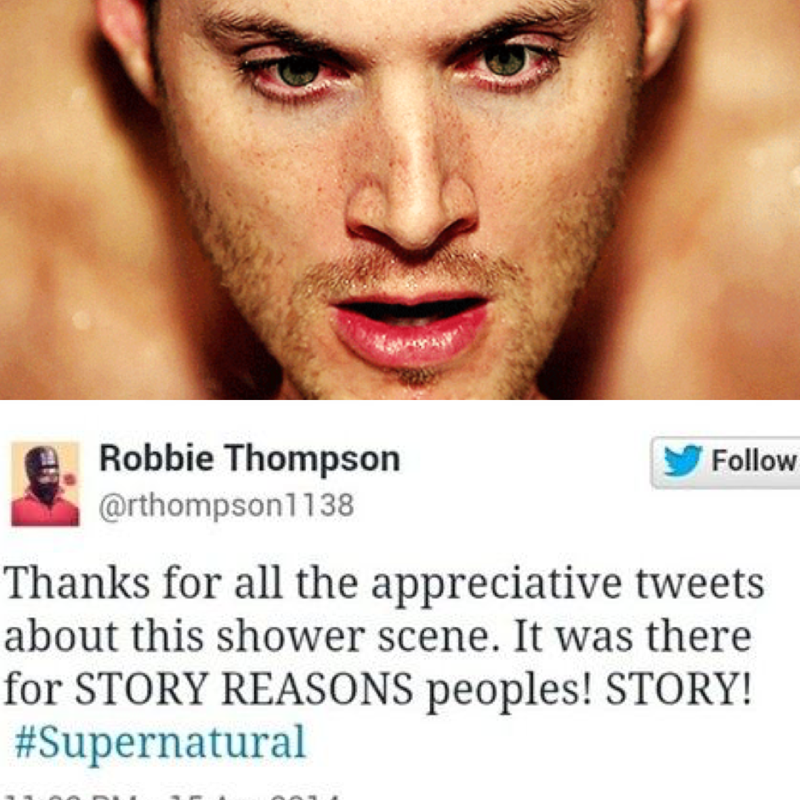 Can we just... I have no words anymore... I guess we have to thank Robbie for that.  I died watching that scene.