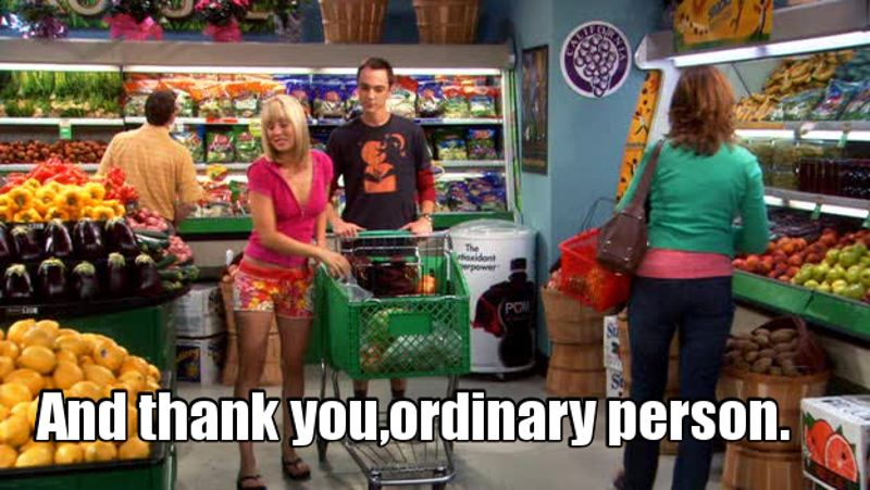 Perché noi in confronto a Sheldon non siamo nulla😂