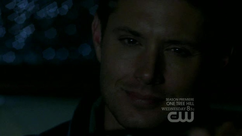 Dean trying to smile, but deep down crying, killed me.