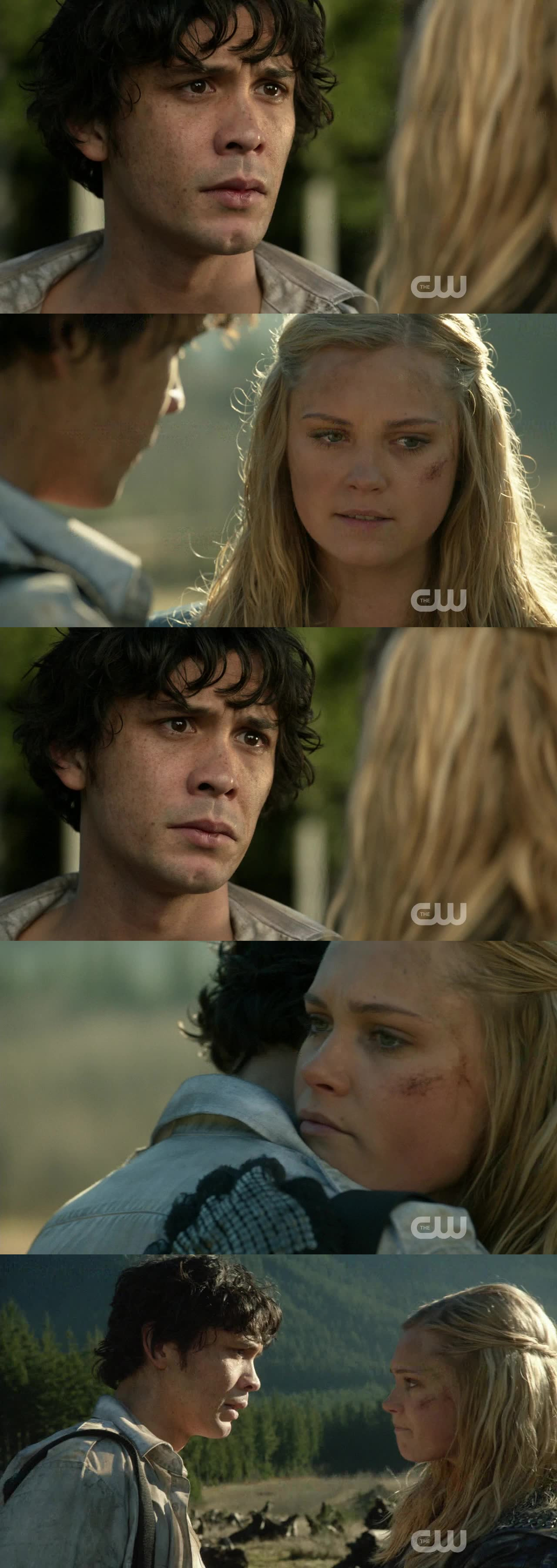"""THE LOOK ON HIS FACE OH MY GOD !!! I was heartbroken!   """"Clarke... You're forgiven""""  """"May we meet again"""" :D  I truly love them *.* can't sait for SEASON 3 !!!"""