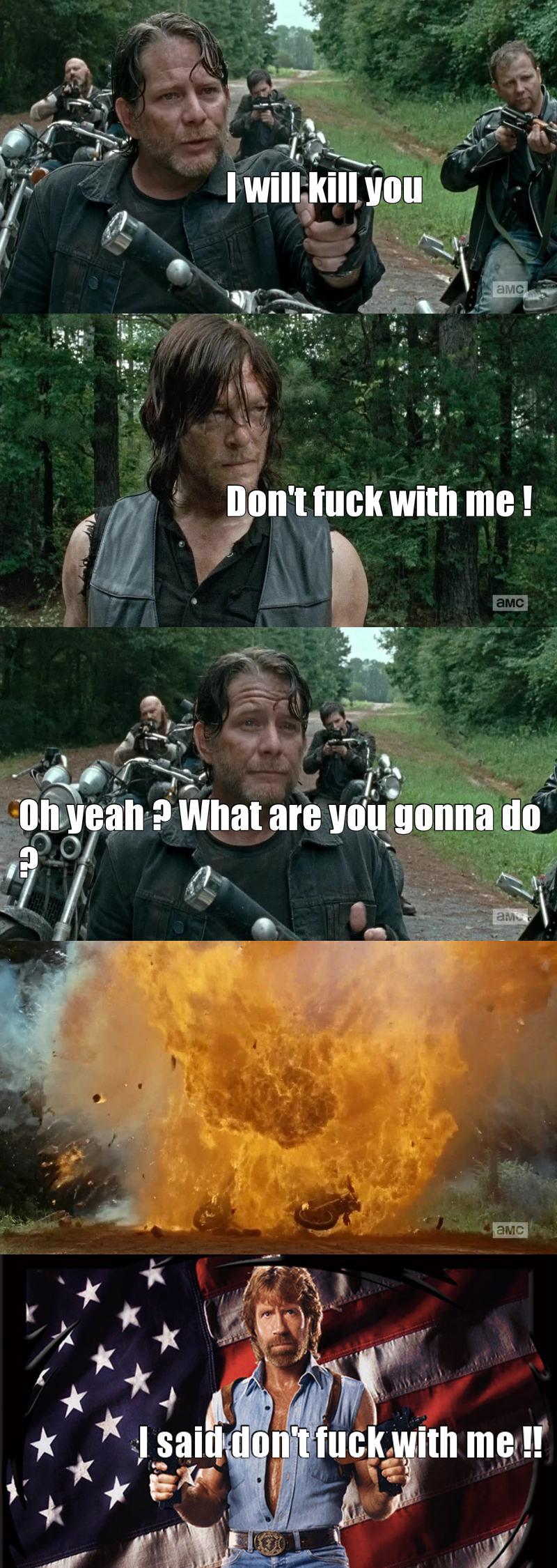 Hahaha je kiff daryl !