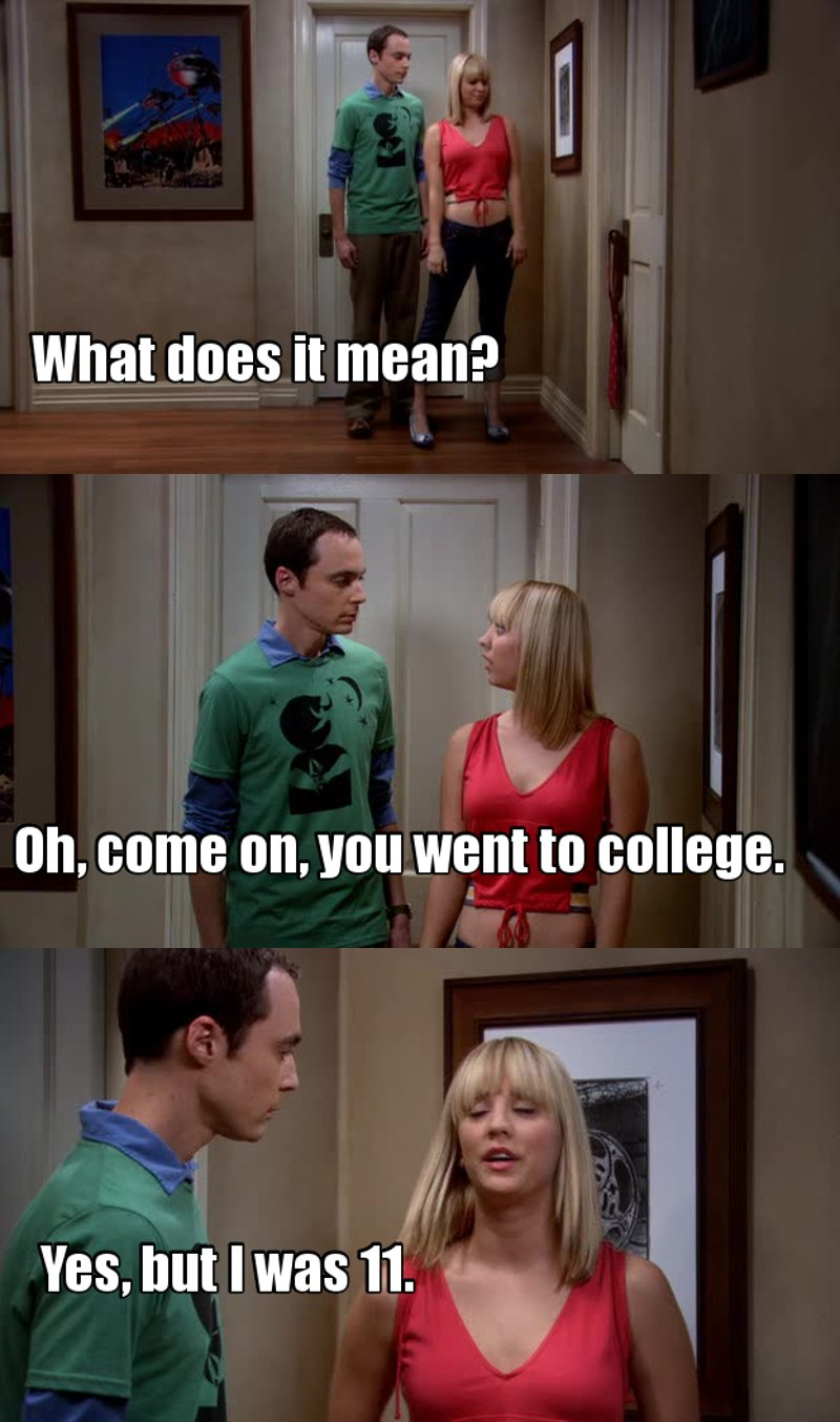 Sheldon is everything xD