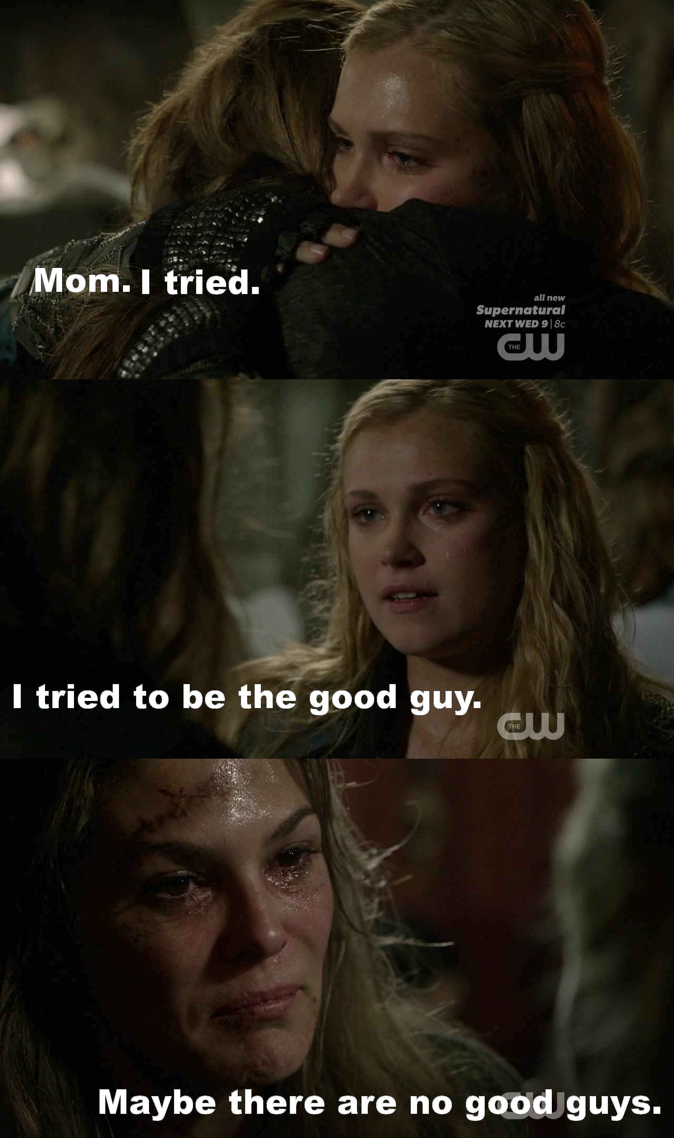 Just Amazing!!! ???????????? THE 100 IS LIFE!