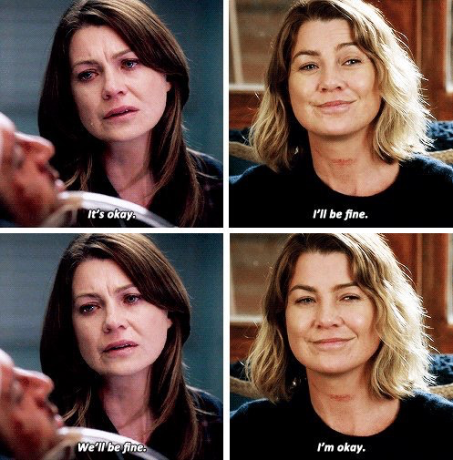 Meredith Grey is the strongest character ever.