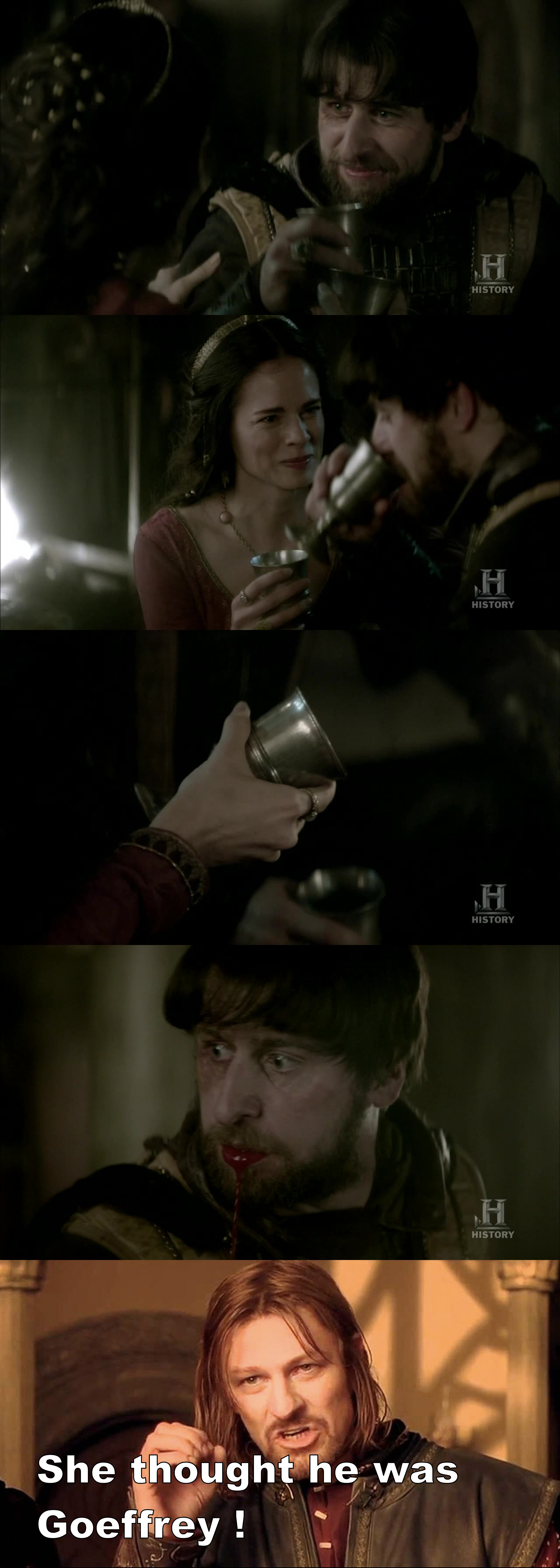 Game of thrones.. Poison arms of every women