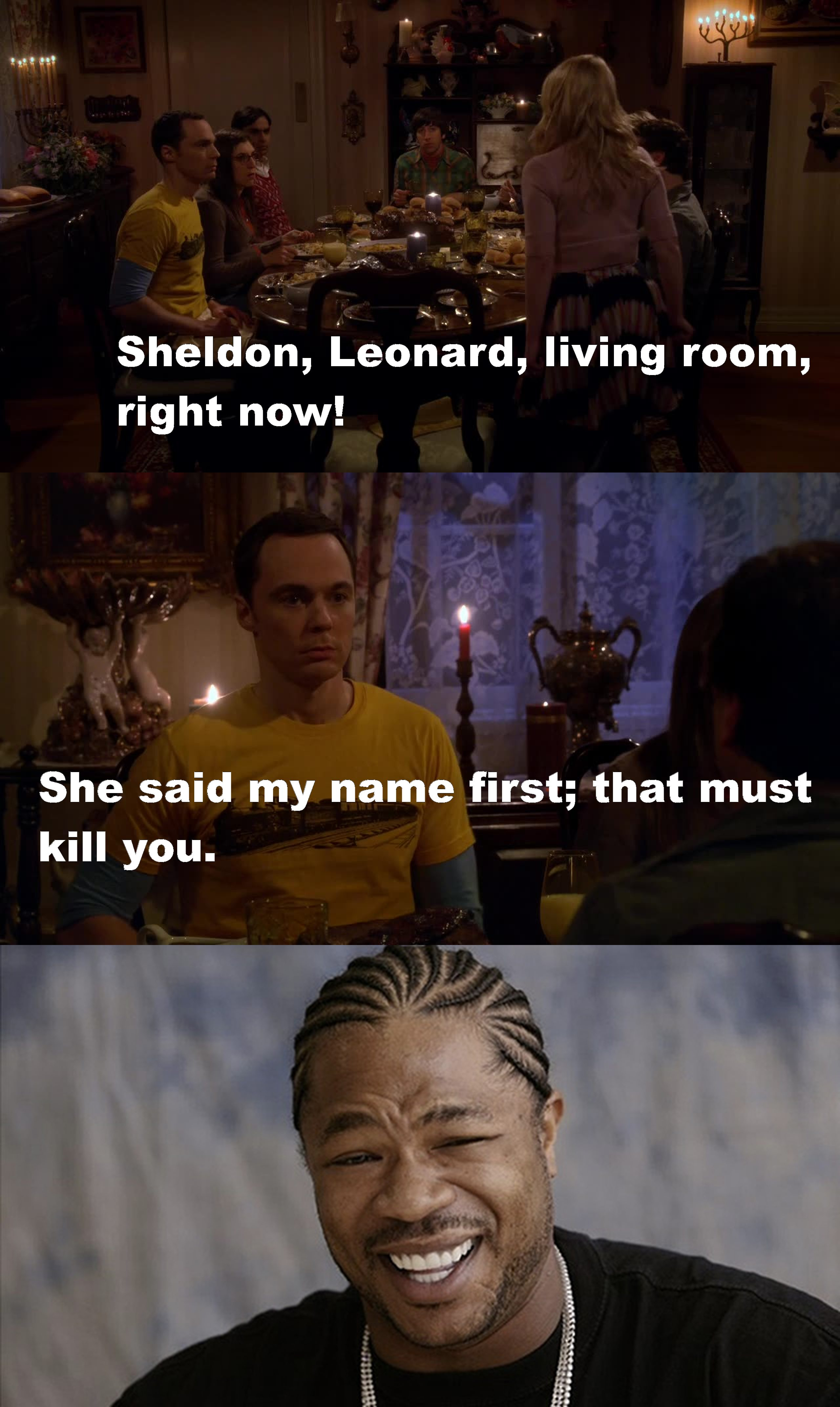 Oh Sheldon ! ????