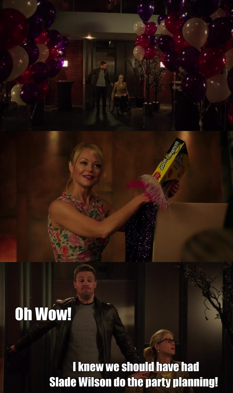 Felicity's Sarcasm on Point!