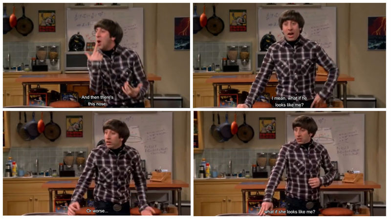 Wolowitz was the best of this episode. :'D