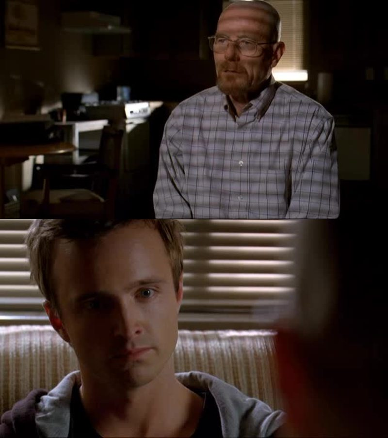 Jesse seems so changed..and so sad 😢
