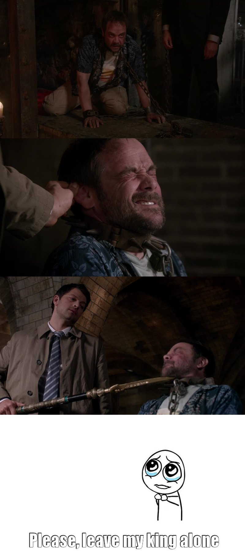 Poor Crowley 😔