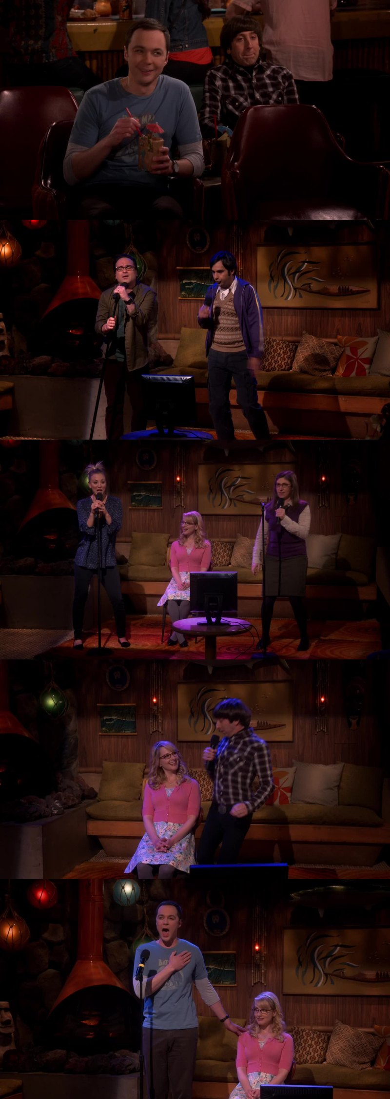 DRUNK SHELDON IS THE BEST AND THE KARAOKE PART WAS SUPER FUN Great episode!