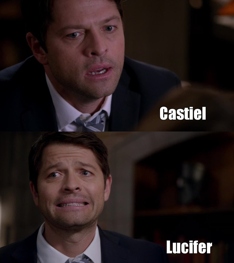 Misha Collins is amazing! Love Casifer!